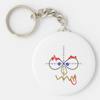 infinity doodle keychain