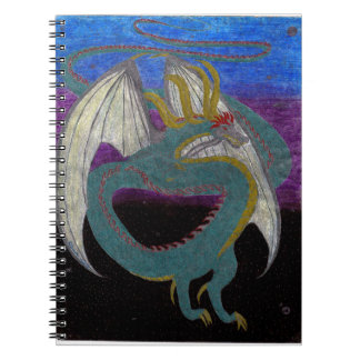 Infinity Dragon - Guardian of the Galaxy Spiral Notebook