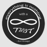 Infinity Everything Nothing Sticker
