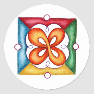Infinity Forever Classic Round Sticker