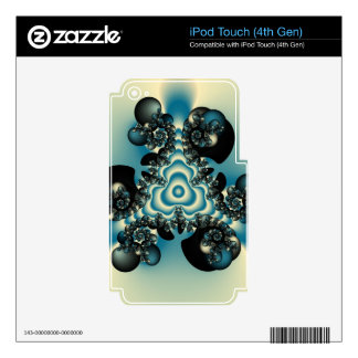 infinity fractal skins for iPod touch 4G