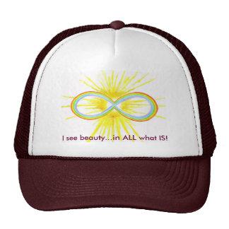 infinity hat.