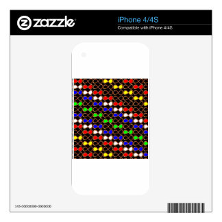 INFINITY Infinite Number Graphic Art Golden GIFTS Skin For iPhone 4S