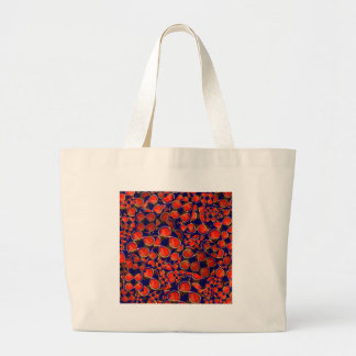 infinity iNFINITE Red Scrap MATHS COSMOS SCIENCE Tote Bags