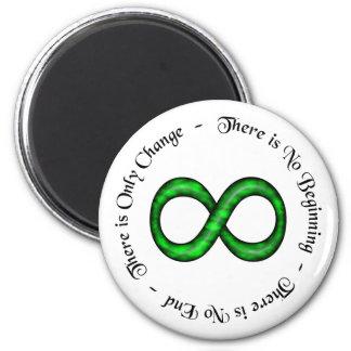 Infinity Is Change Magnet