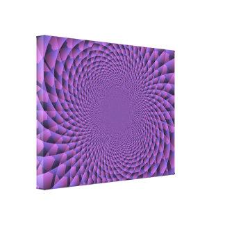 Infinity Is Purple Canvas Print