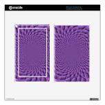 Infinity is Purple Kindle Fire Skins