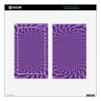 Infinity is Purple Kindle Fire Skins