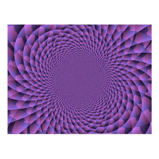 Infinity Is Purple Postcard