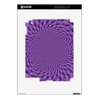 Infinity is Purple Skin For The iPad 2