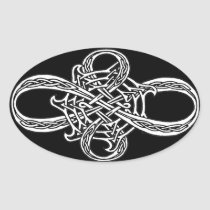 Infinity Knot Sticker