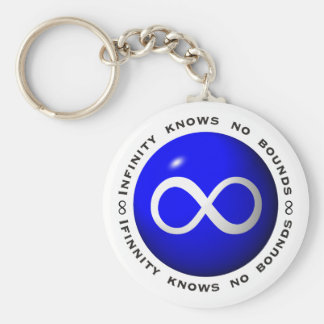 Infinity Knows No Bounds Keychain