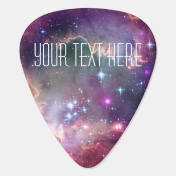 Infinity Loop And Galaxy Space Hipster Custom Guitar Pick by RoseRoom at Zazzle