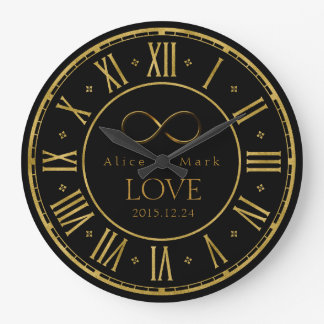 Infinity Love | Geek Gifts Large Clock