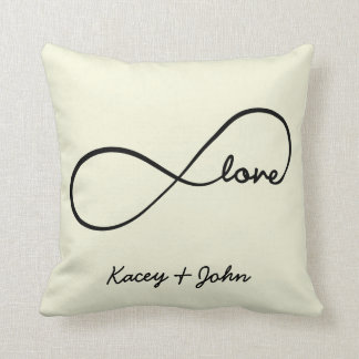 Infinity Love Pillows