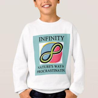 INFINITY math joke Sweatshirt