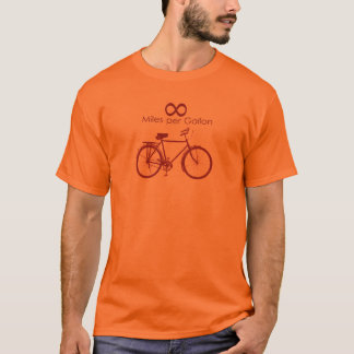 Infinity Miles Per Gallon Bike T-Shirt