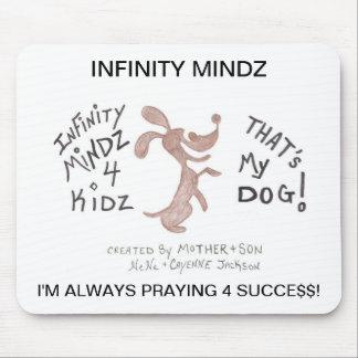 "Infinity Mindz ""4KIDZ DOGGY WORLD Mouse Pad"