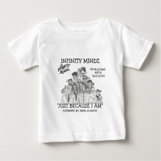 """Infinity Mindz """"I'M BLESSED WITH SUCCESS"""" Baby T-Shirt"""