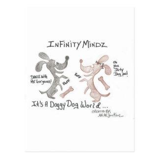 "Infinity Mindz ""It's A Doggy Dog World!"" Postcards"