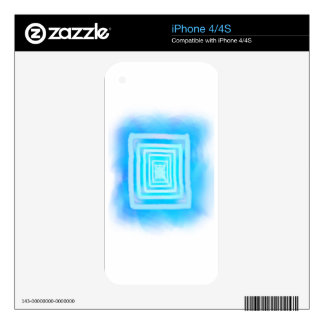 Infinity Mirror Phone Skin Skins For iPhone 4S