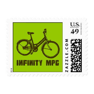 INFINITY MPG stamp green