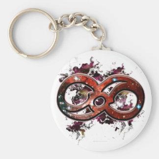 Infinity Nebula Keychain