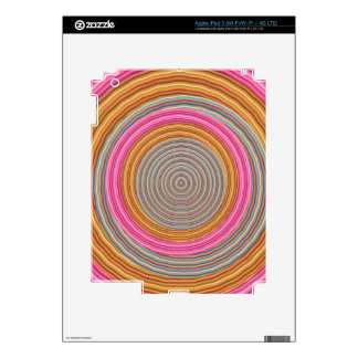 Infinity of Thought Waves - Unity of Humankind iPad 3 Decal