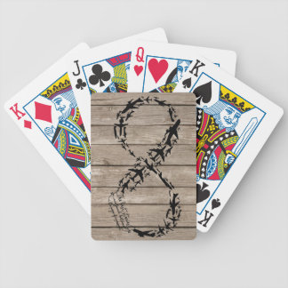 Infinity Office Gifts, Aviation PlayingCards Bicycle Playing Cards