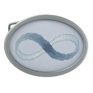 infinity belt. infinity oval belt buckle