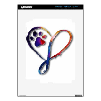 Infinity Paw Decals For iPad 3