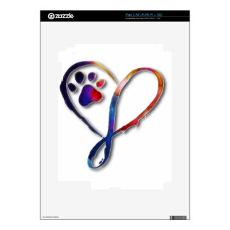 Infinity Paw Decals For The iPad 2