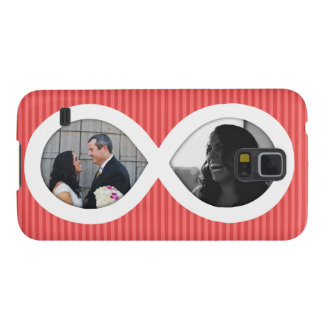 Infinity Photo Frame Customizable Galaxy S5 Cover