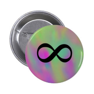 Infinity Pinback Button