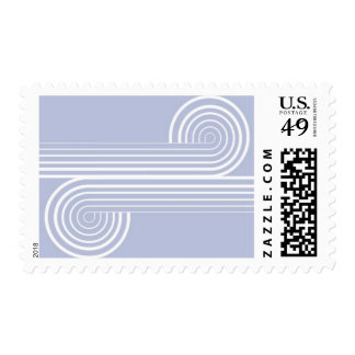 Infinity - Roadway, Dusty Purple Postage Stamp