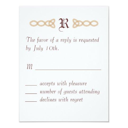 Infinity RSVP Card