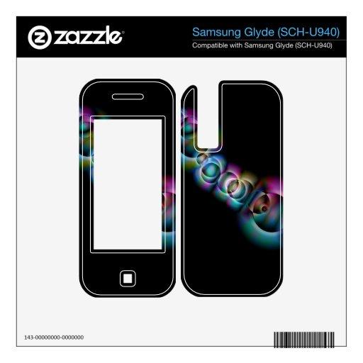 Infinity Samsung Glyde DecalsSamsung Glyde 2