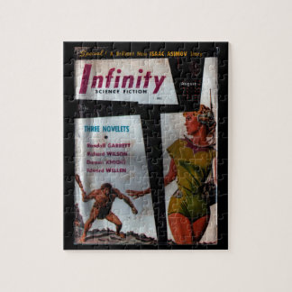 Infinity Science Fiction - 1956.8_Pulp Art Jigsaw Puzzle