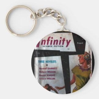 Infinity Science Fiction - 1956.8_Pulp Art Keychain
