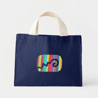 infinity screen tote bag