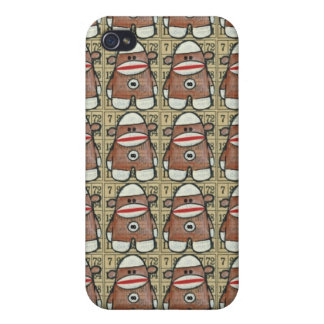 Infinity Sock Monkey iPhone Case Case For iPhone 4