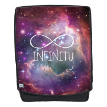 infinity space galaxy backpack