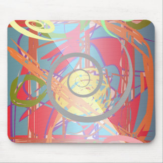Infinity Spirals Mouse Pad