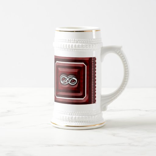 Infinity Square Steins