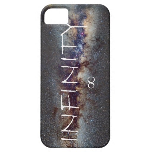 INFINITY STARS IN THE MILKY WAY ∞ FUNDA PARA iPhone 5 BARELY THERE