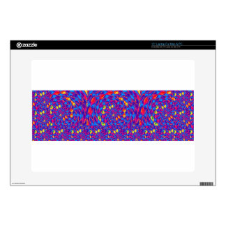 """Infinity Strip TEMPLATE add text image move up dow Skins For 15"""" Laptops"""