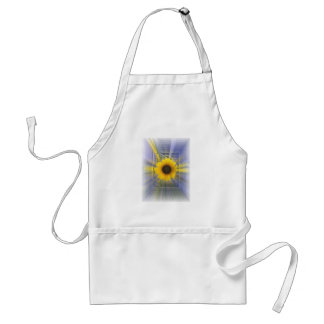 Infinity Sunflower Adult Apron