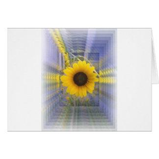 Infinity Sunflower Card