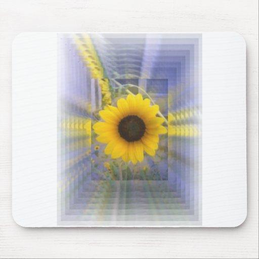 Infinity Sunflower Mousepads