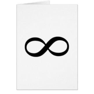 Infinity Symbol Card